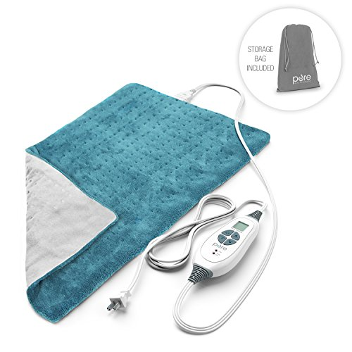 PureRelief XL – King Size Heating Pad with Fast-Heating