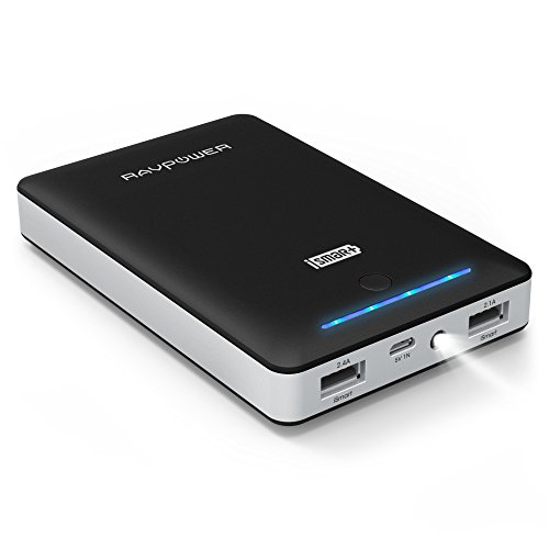 $23.99 [Upgraded Capacity] RAVPower 16750mAh Portable Charger Most Powerful 4.5A
