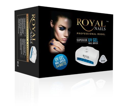 54 Watt Royal Nails Professional UV Light Gel and