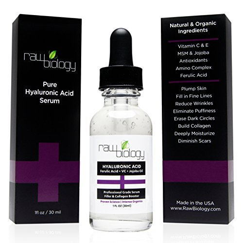 PUREST Organic Hyaluronic Acid with Vitamin C and E