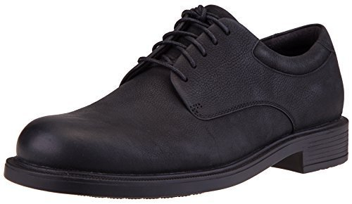 Rockport Men's Margin Oxford (8 2E US, Black Nubuck)