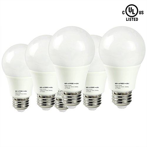 SHINE HAI 8W A19 LED Bulb 60 Watt Equivalent