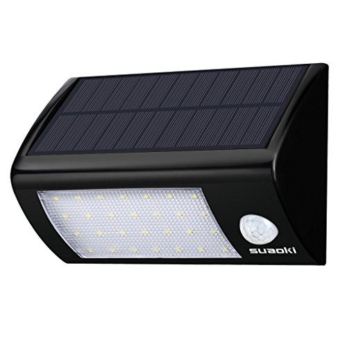 Suaoki 28 LED Solar Lights Super Bright Outdoor Motion