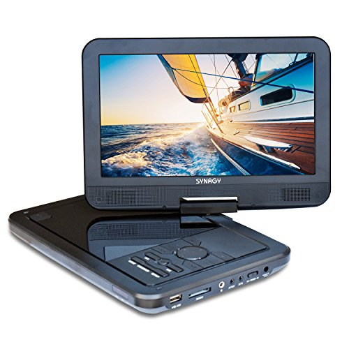 SYNAGY A10 10.1inch Portable DVD Player CD Player with