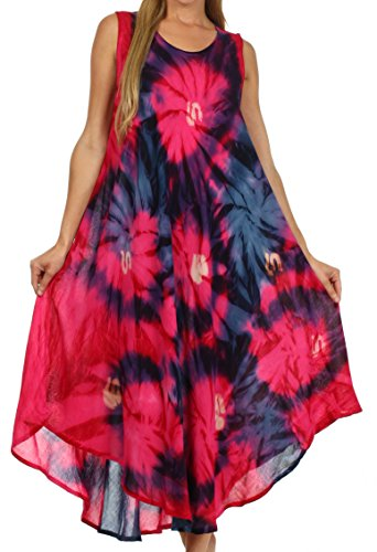 Sakkas 00831 Starlight Caftan Tank Dress / Cover Up