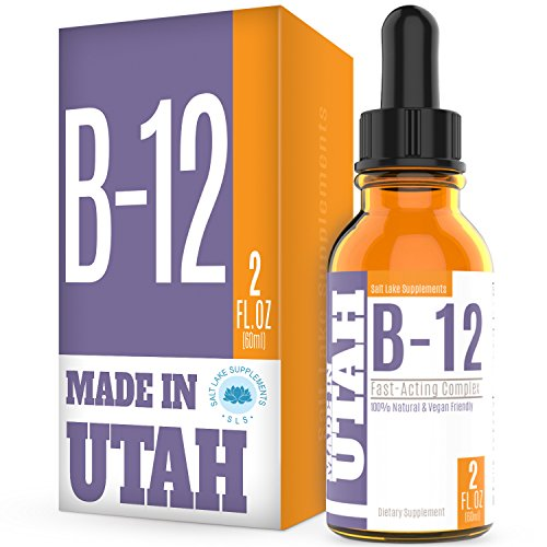 Vitamin B12 Liquid Drops - Best Way To Instantly