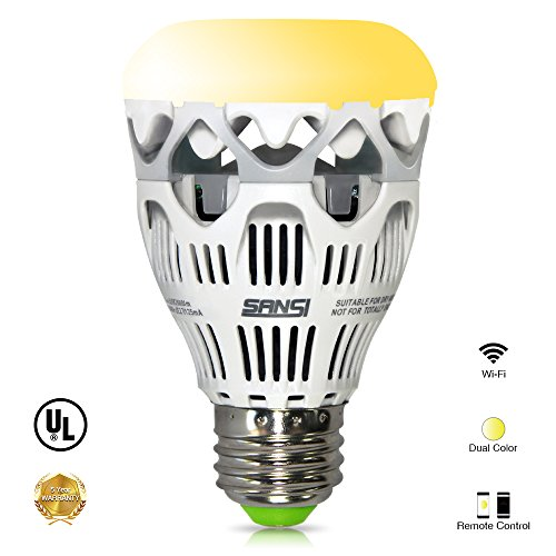 LOFTEK-SANSI 10W A19 Wifi Led Smart Light Bulb, 800