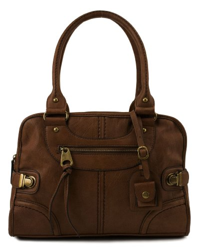 Scarleton Large Satchel H106804 – Brown
