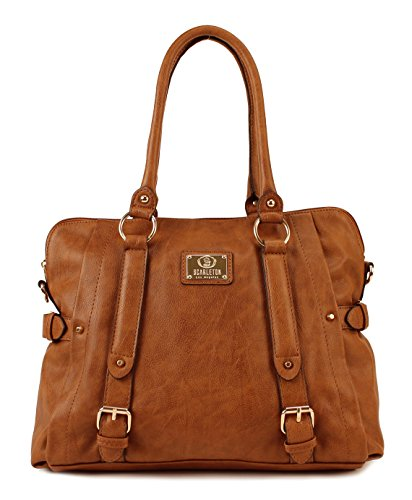 $29.99 Scarleton Medium Belt Accent Tote Bag H126425 - Camel