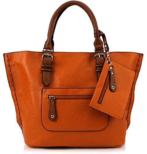Scarleton Large Tote H103509 - Orange