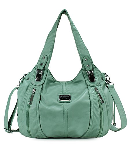 Scarleton Center Zip Shoulder Bag H147453 - Mint