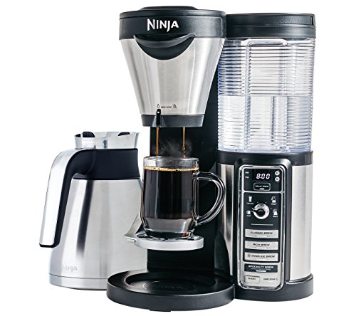 Ninja Coffee Bar Brewer, Thermal Carafe with Ninja Hot