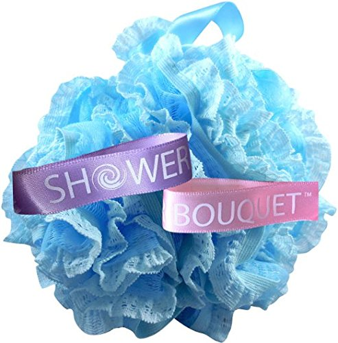 Loofah Bath Sponge Lace Set by Shower Bouquet: Mesh