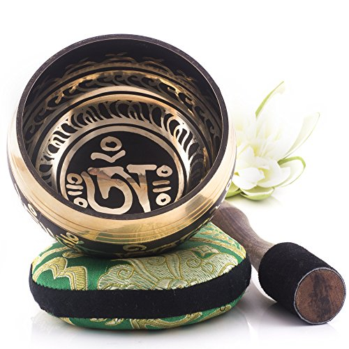 Silent Mind ~ Tibetan Singing Bowl Set ~ Om