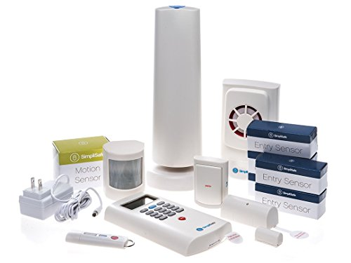 SimpliSafe SSCS2 Simplisafe2 Wireless Home Security Deluxe Pack, (13