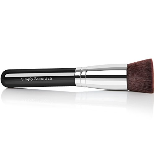 Professional Kabuki Makeup Brush With Big Flat Top for