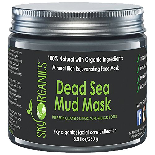 Dead Sea Mud Mask by Sky Organics For Face