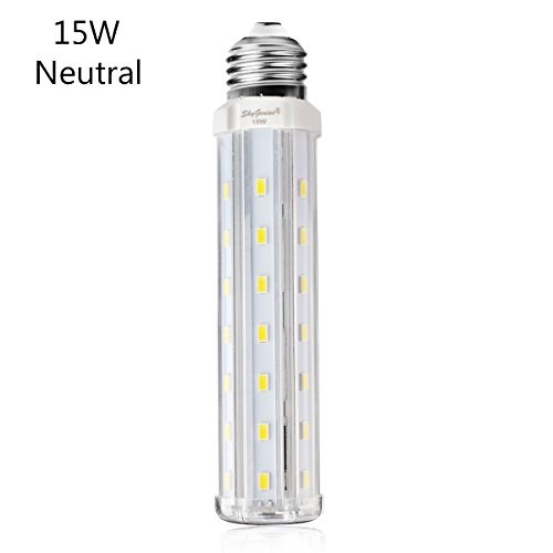 15w neutral led corn light t10 tubular bulb replacement. Black Bedroom Furniture Sets. Home Design Ideas