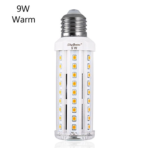 9W Warm White LED Corn Light Bulb – E26