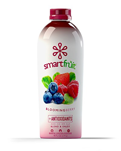 Smartfruit Blooming Berry, All Natural 100% Fruit Smoothie Mix