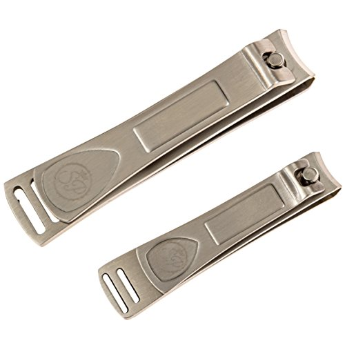 Premium Nail Clipper Set - Stainless Steel Fingernail Clippers