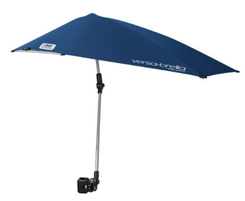 $18.46 Sport-Brella Versa-Brella All Position Umbrella with Universal Clamp, Midnight