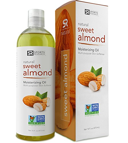 Sweet Almond Oil 16oz. Non- GMO and Hexane Free