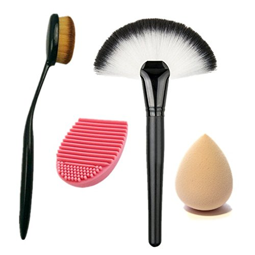 Start Makers ® Professional Large Fan Makeup Brush -