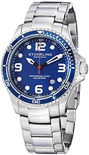 "Stuhrling Original Watches Mens ""Specialty Grand Regatta"" Stainless Steel"