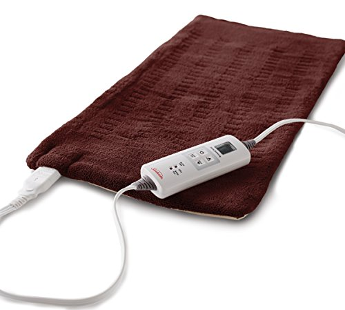 Sunbeam Xpressheat Heating Pad, Extra Large,Burgundy
