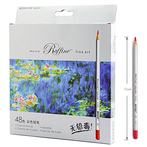 SUNYOU Premier Soft Core Art Colored Pencils for Artist