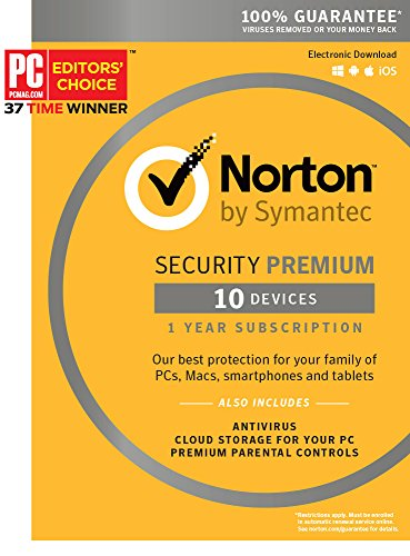 Norton Security Premium – 10 Devices [Key Card]