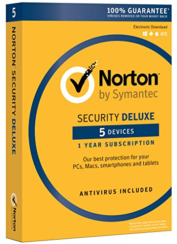 $19.99 Norton Security Deluxe - 5 Devices | PC/Mac Online