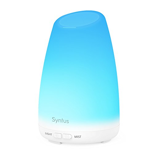 Syntus 150ml Essential Oil Diffuser Portable Ultrasonic Aromatherapy Diffusers