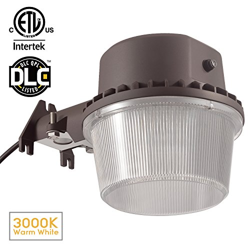 Dusk-to-dawn LED Outdoor Barn Light (Photocell Included), 35W (250W
