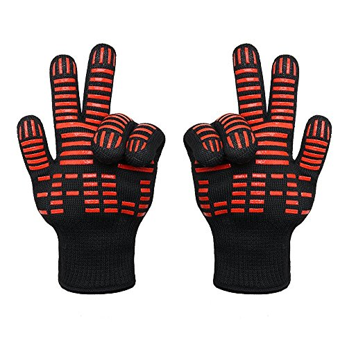 TTLIFE BBQ Grilling Cooking Gloves - 932°F Extreme Heat