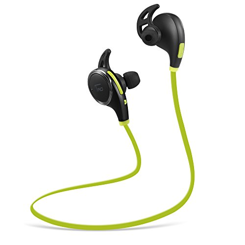 Bluetooth Headphones TaoTronics Wireless Earphones for Running with Mic