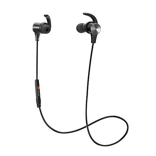 TaoTronics Bluetooth Headphones, Wireless 4.1 Magnetic Earbuds aptX Stereo