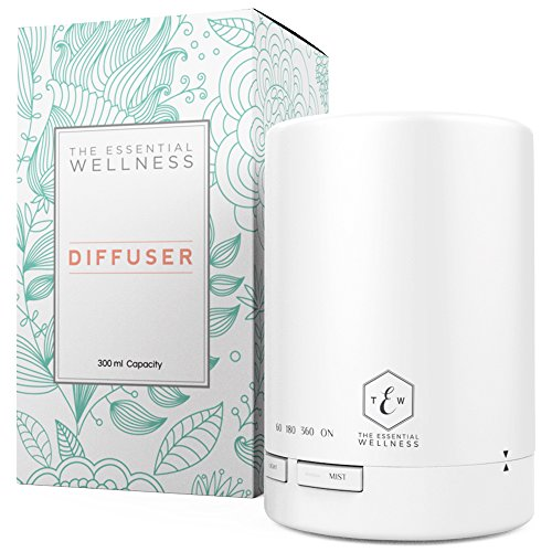 The Essential Wellness Aromatherapy Oil Diffuser  Ultrasonic Cool