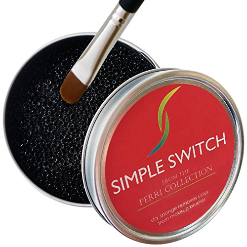 Simple Switch Makeup Removing Sponge | Eyeshadow Brush Cleaner
