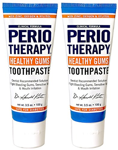 TheraBreath Dentist Recommended PerioTherapy Healthy Gums Toothpaste, 3.5 Ounce