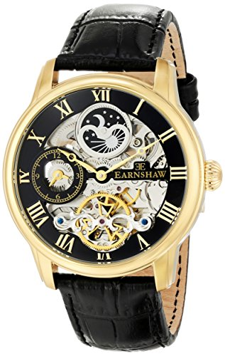 $183.60 Thomas Earnshaw Men\'s ES-8006-05 Longitude Gold-Tone Stainless Steel Automatic