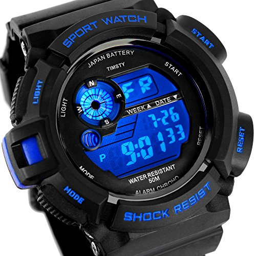 Boys Watch, Sports Watch, Electronic Quartz Digital Watches for