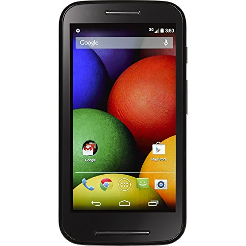 Motorola Moto E Android Prepaid Phone with Triple Minutes