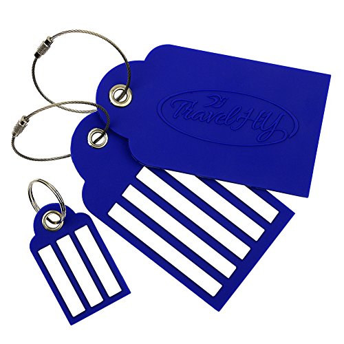 TravelHY Luggage Tags, Easy To Write Wide Lines, Tough