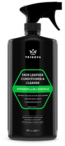 Vinyl and Faux Leather Cleaner  Conditioner - Keep