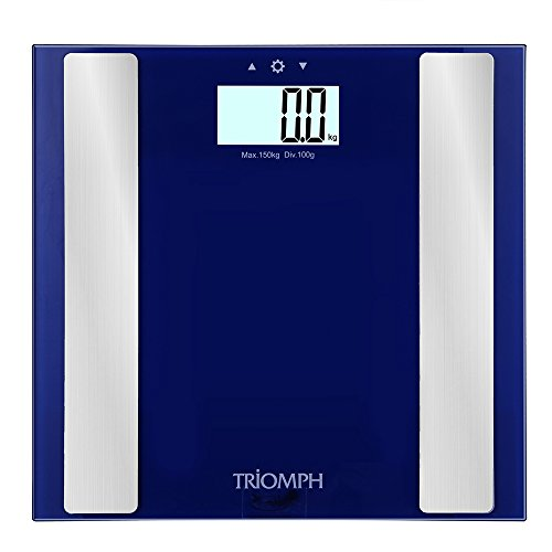 Triomph Digital Body Fat Weight Scale w/ Smart Step-On