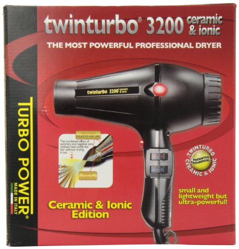 Twin Turbo 3200 Ceramic and Ionic Professional Hair Dryer