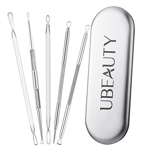 ElleSye UBeauty 5-in-1 Blackhead Remover Kit Pimple Extractor Acne