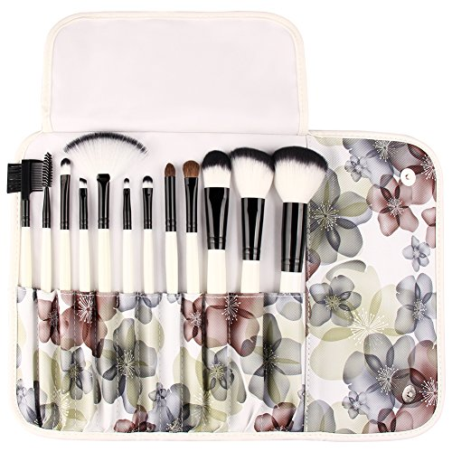 UNIMEIX Professional 12 Pcs Makeup Brushes Cosmetics Brush Set